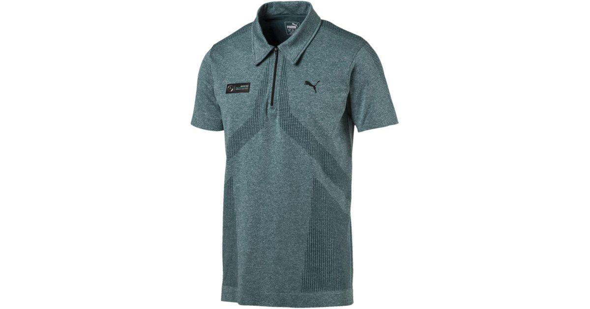 bbb6b5d38 PUMA Mercedes Amg Petronas Evoknit Polo for Men - Lyst