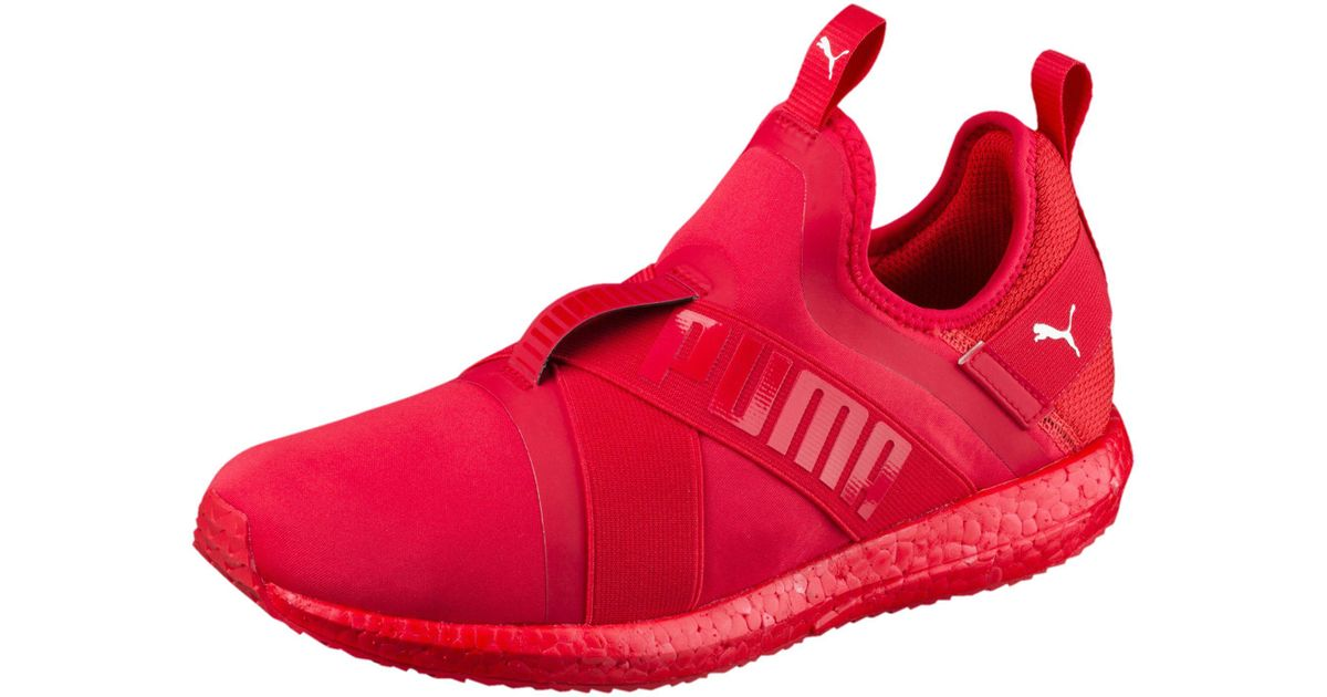 31b7eb89a5adad Lyst - PUMA Mega Nrgy X Men s Running Shoes in Red for Men