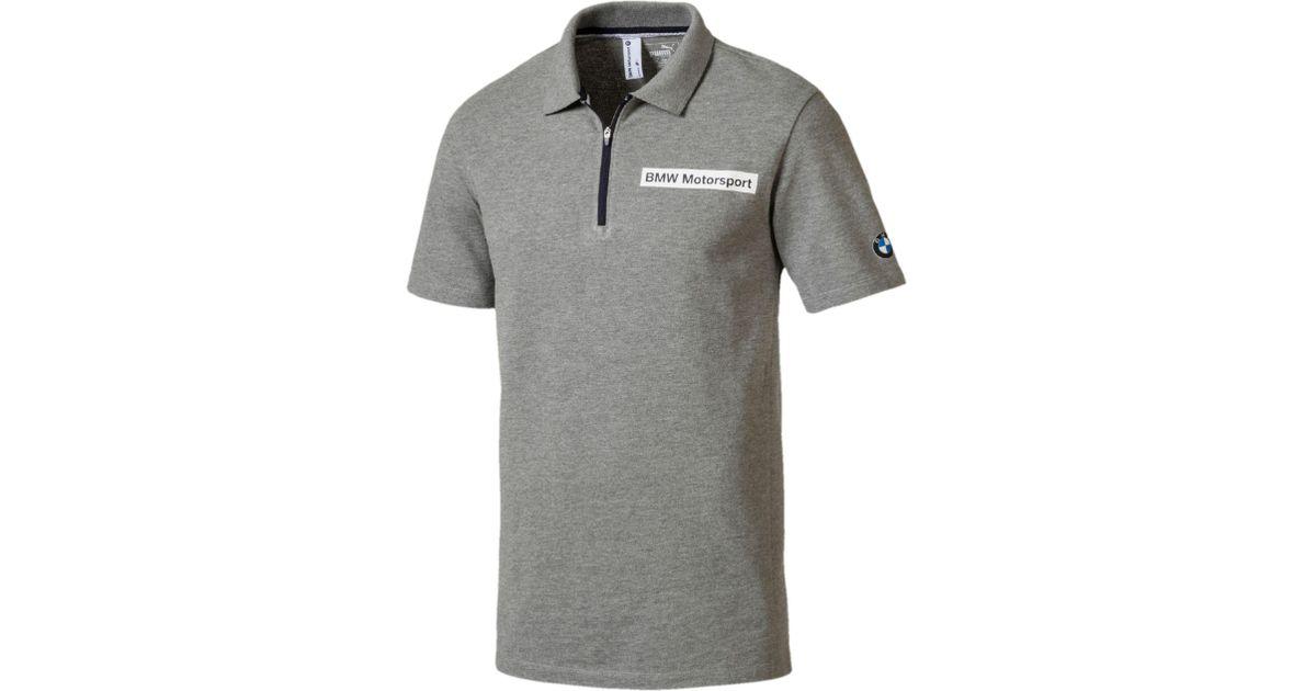 1bd37ee8 PUMA Bmw Motorsport Men's Polo Shirt in Gray for Men - Lyst