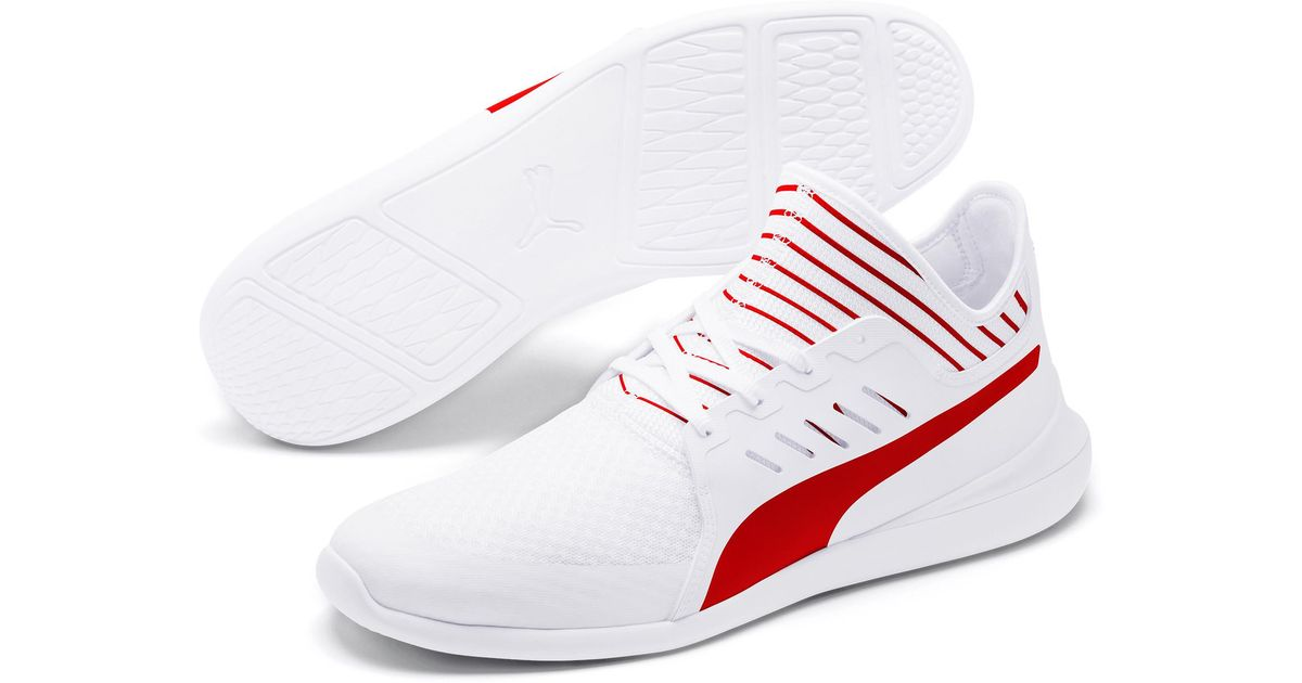 Lyst Ferrari White For Men Mace Puma Sneakers Cat Evo In q7arq5 4f4a9b14a4cd