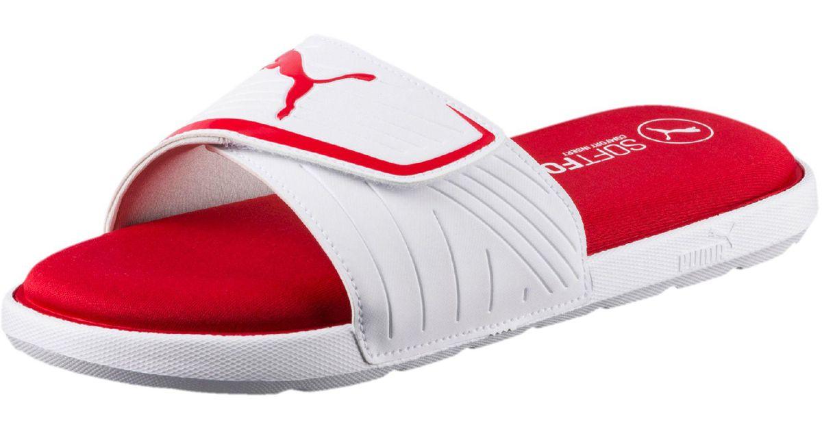 57771e77f931 Lyst - PUMA Starcat Sfoam Men s Sandals in Red for Men
