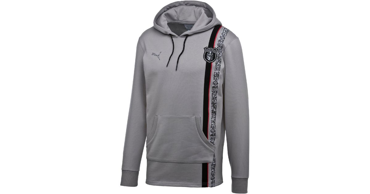 a596beedb75 Lyst - PUMA X Trapstar Men s Hoodie in Gray for Men
