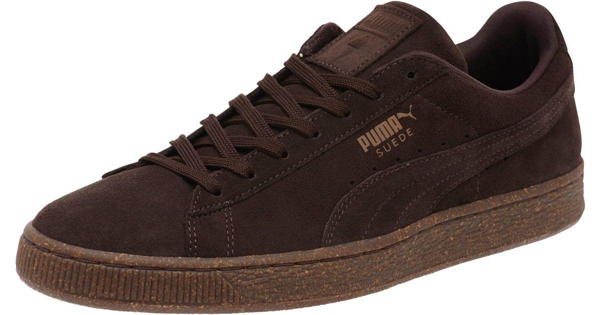 b1170182b8d Lyst - PUMA Suede Ice Cream Men s Sneakers in Brown for Men