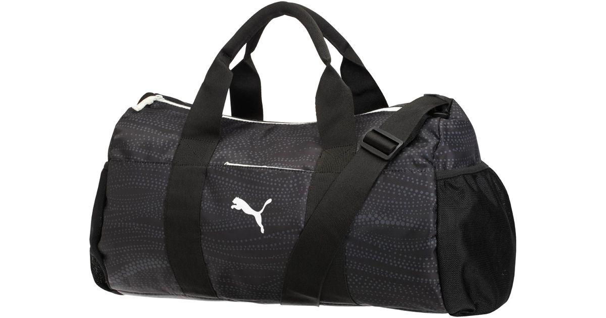 36706428cf Lyst - PUMA Rhythm Duffel Bag in Black