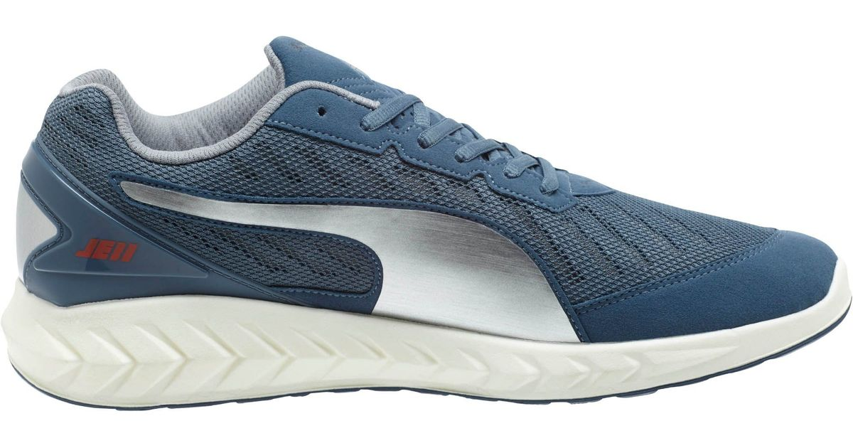 Lyst - PUMA Ignite Ultimate Je11 Men s Running Shoes in Blue for Men 65523bc0e