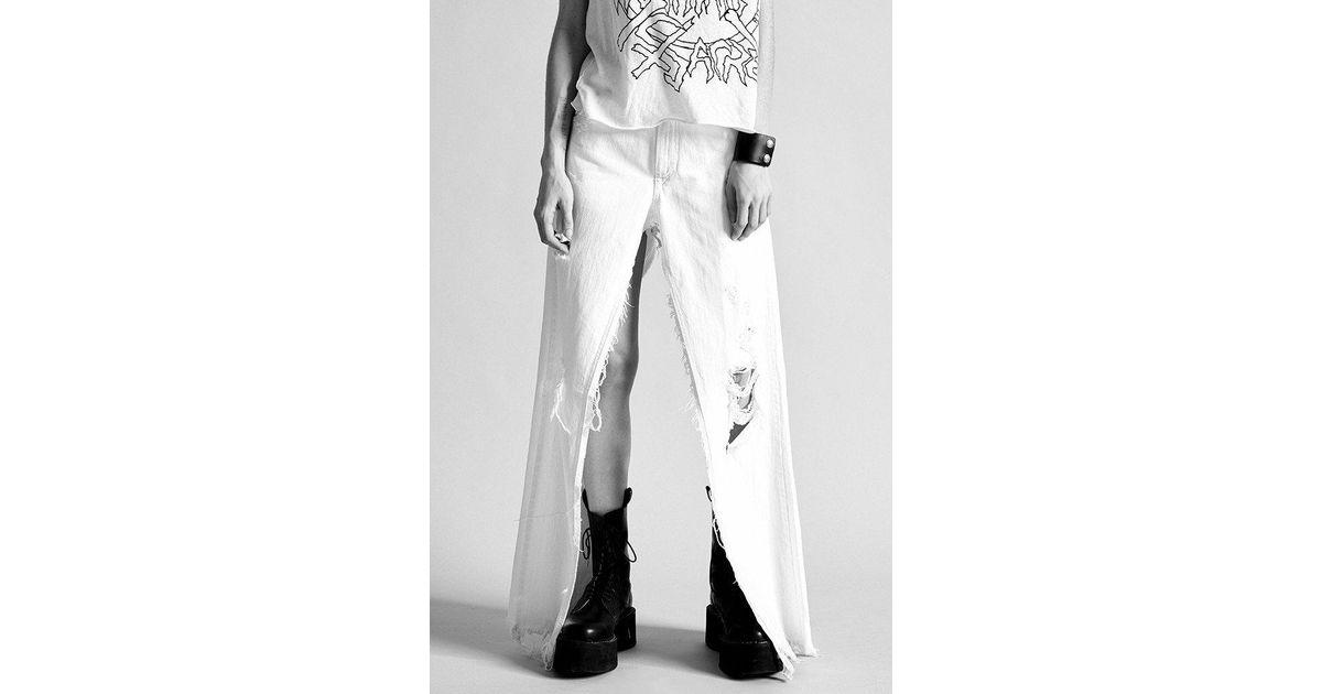 Sashah shorts - White R13 tbiXY1H