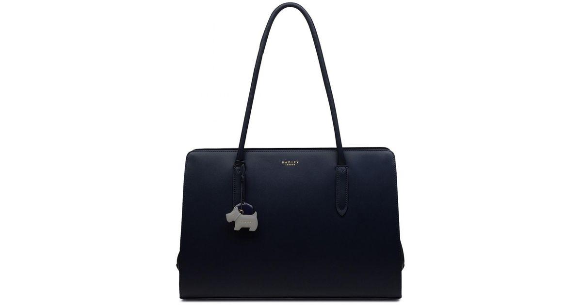 51379d3cb468 Radley Liverpool Street Large Workbag in Blue - Lyst