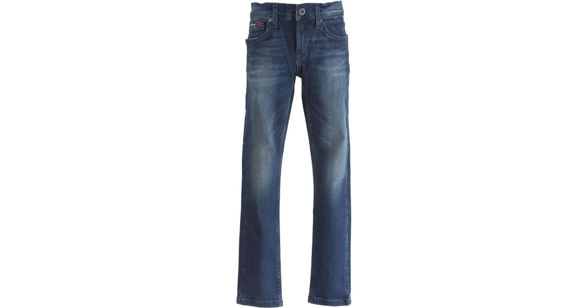 14362a63 Lyst - Tommy Hilfiger Baby Jeans For Boys On Sale In Outlet in Blue for Men