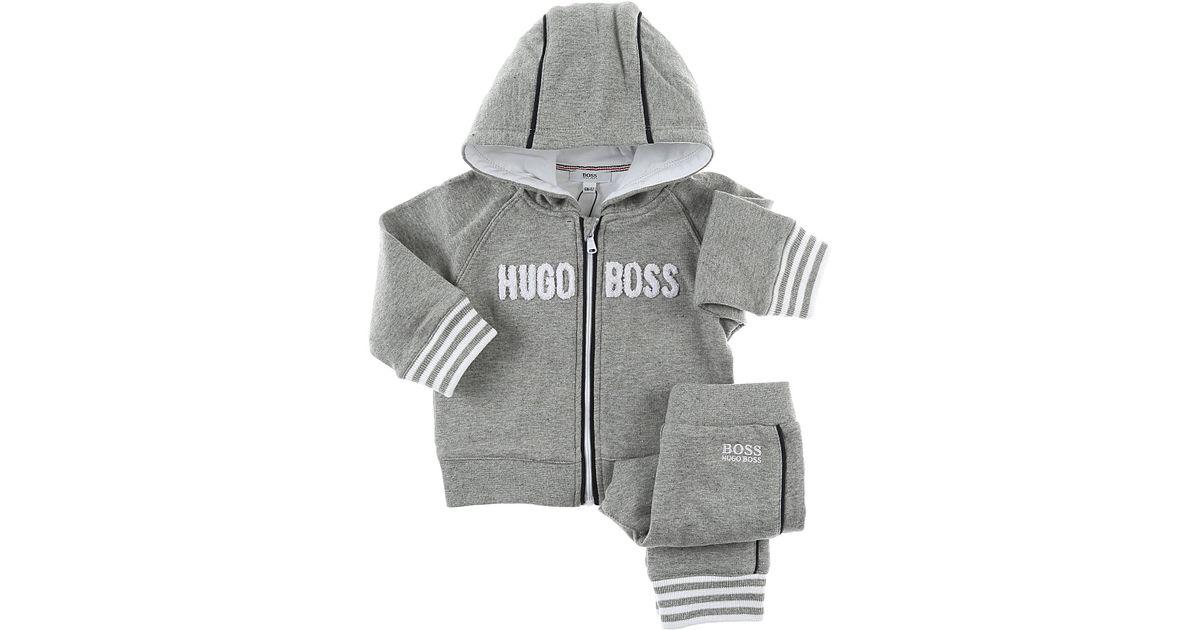 b5445641d BOSS Baby Sets For Boys in Gray for Men - Lyst