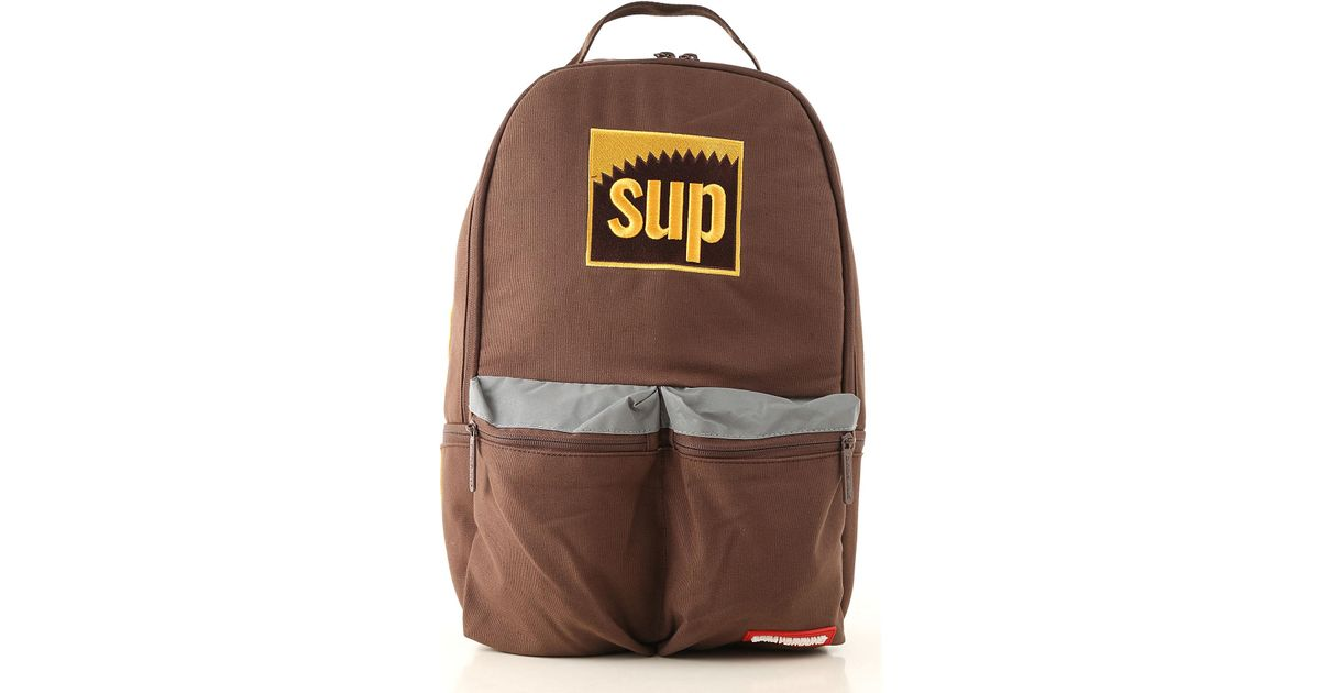 4a6ce1e03f8 Lyst - Sprayground Backpack For Men in Brown for Men