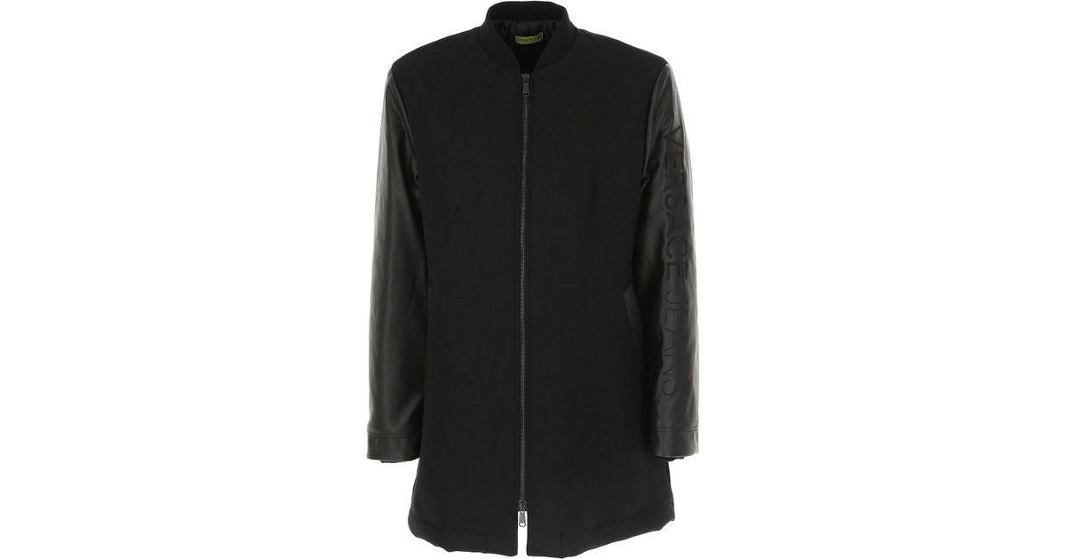 Lyst - Manteau Homme Versace pour homme en coloris Noir 5bb37595758