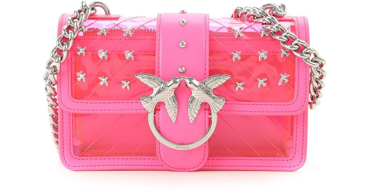 Sac Pink Femme Pinko Lyst Bandoulière vmn8w0N