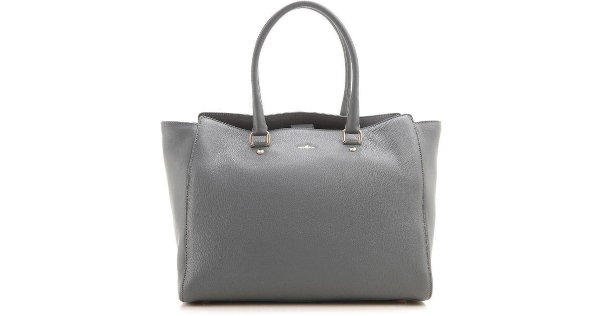 6d023c33bd6 Hogan Tote Bag in Gray - Lyst
