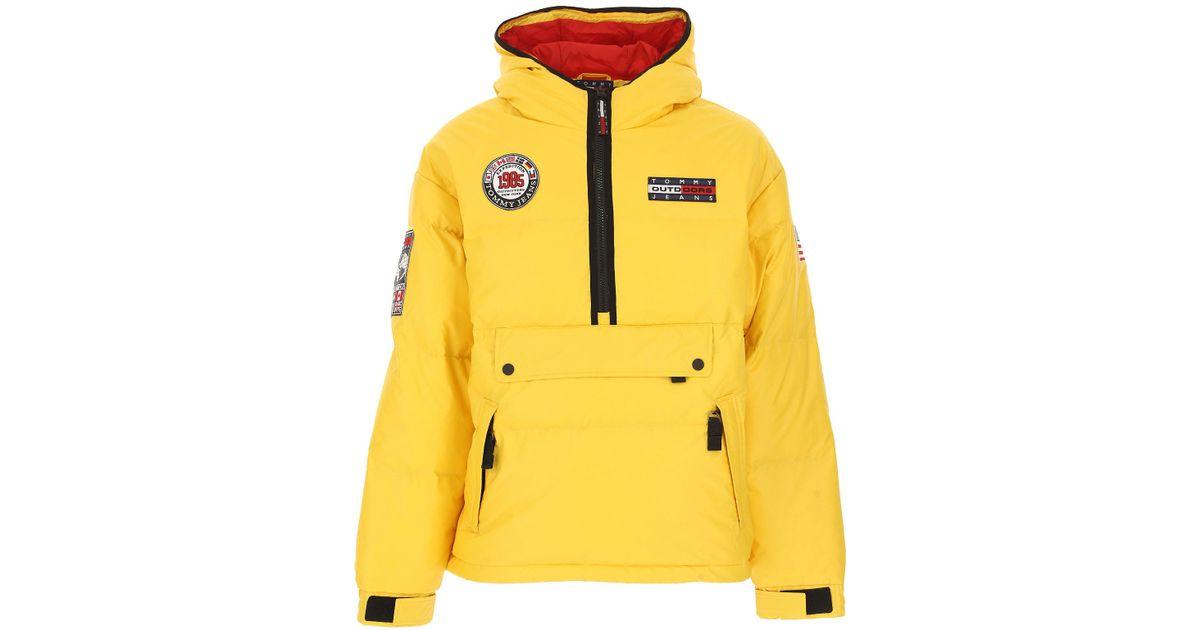 buscar original diseño distintivo tienda Abrigo de Plumas para Hombre Tommy Hilfiger de hombre de color Yellow