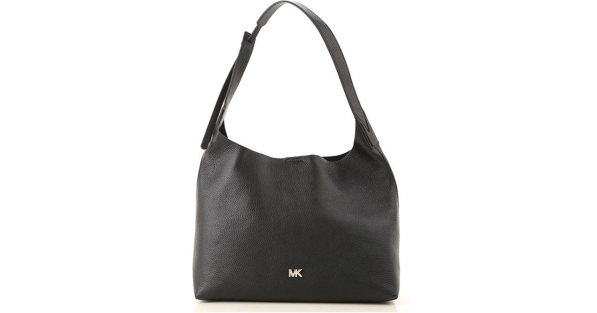 060a2e872672 ... where to buy lyst michael kors tote bag on sale in black c3483 0b8d0  coupon for nwt michael kors black pvc jet set ew mk signature ...