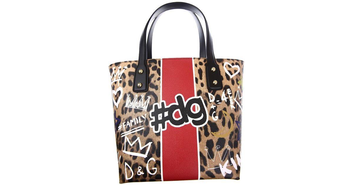 a68c6916eb4a Lyst - Dolce   Gabbana Tote Bag On Sale in Black