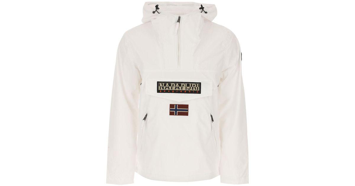 Napapijri White Jacket For Men for Men Lyst