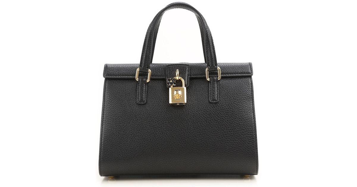 91059b5909b85 Lyst - Sac à main Pas cher en Soldes Outlet Dolce   Gabbana en coloris Noir  - 48.74015748031496 % de réduction
