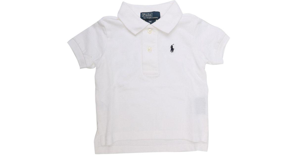 Lyst - Polo Bébé pour Garçon Pas cher en Soldes Outlet Ralph Lauren pour  homme en coloris Blanc 49686b261b5