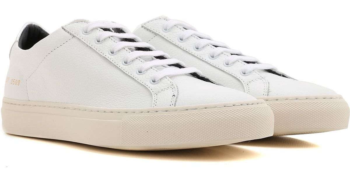 Shoes Projects in For Women White Lyst Common lFKTc31J