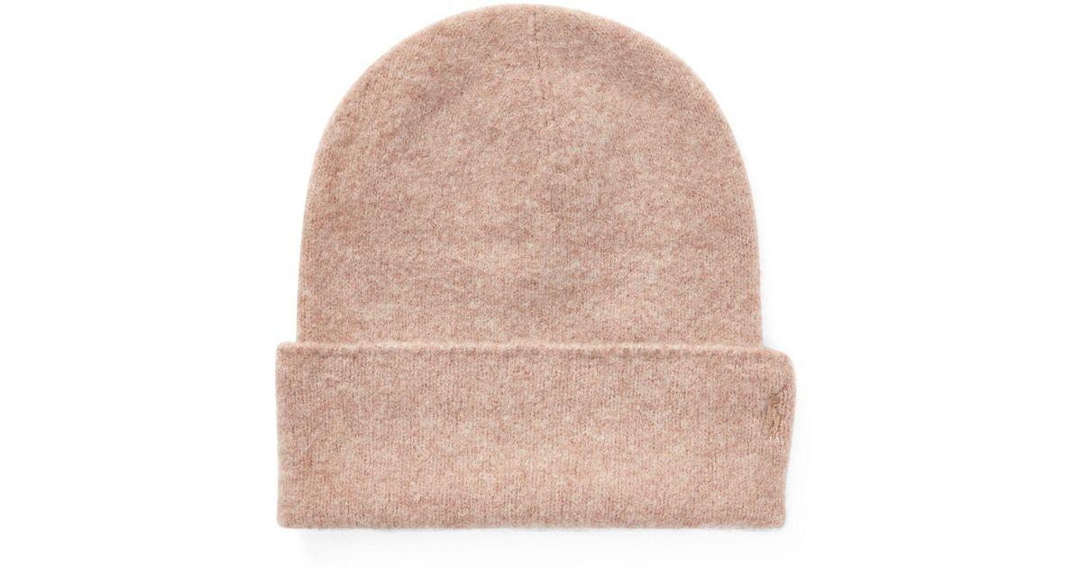 Lyst - Polo Ralph Lauren Cashmere Felt Hat in Natural 4e70786fb23