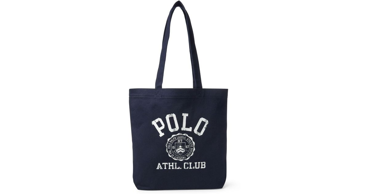 e080a6a09a Polo Ralph Lauren Polo Athletic Club Tote in Blue for Men - Lyst