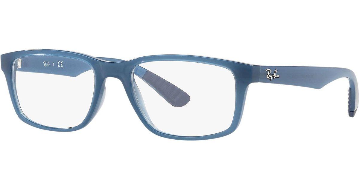 6eef9edac2 Lyst - Ray-Ban Rb7063 in Blue