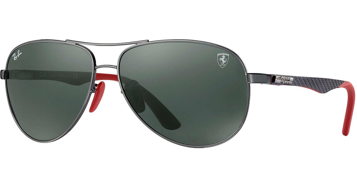 ray ban rb8313m scuderia ferrari collection in green for. Black Bedroom Furniture Sets. Home Design Ideas