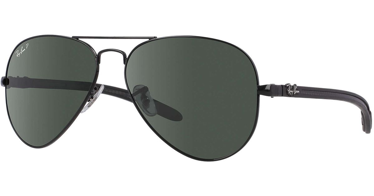 575447f03193c Lyst - Ray-Ban Aviator Carbon Fibre in Green for Men
