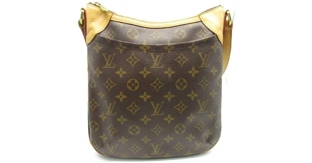 5674fec7f35 Louis Vuitton - Odeon Pm Monogram Shoulder Bag Brown 6707 - Lyst