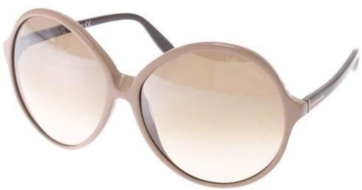 6d726f24c6a Lyst - Tom Ford Sunglasses Brown in Brown
