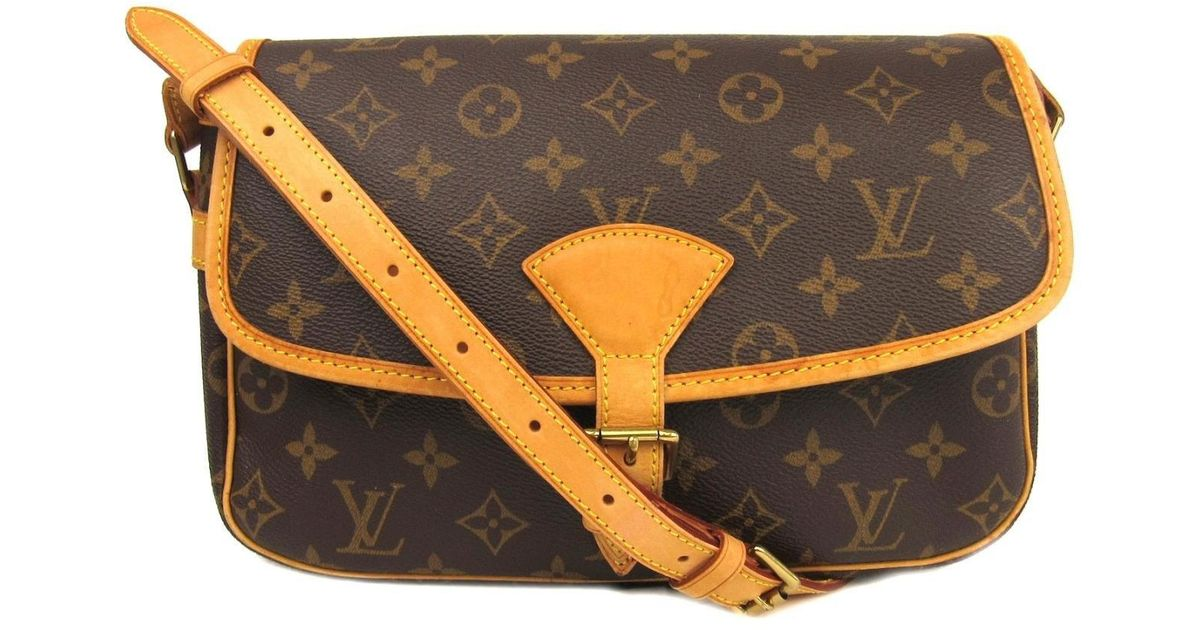 4ed7d610805b Lyst - Louis Vuitton Sologne Shoulder Bag Monogram Canvas M42250 in Brown