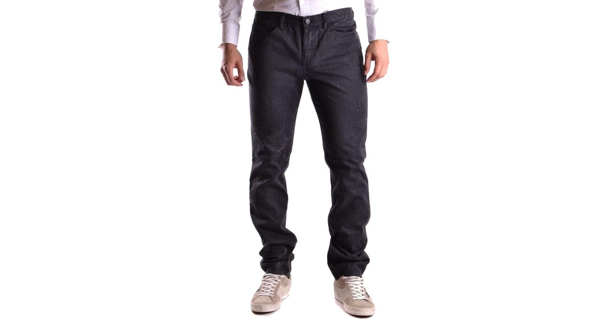 cf1a2508358 Lyst - Givenchy Black Cotton Jeans in Black for Men - Save 27%