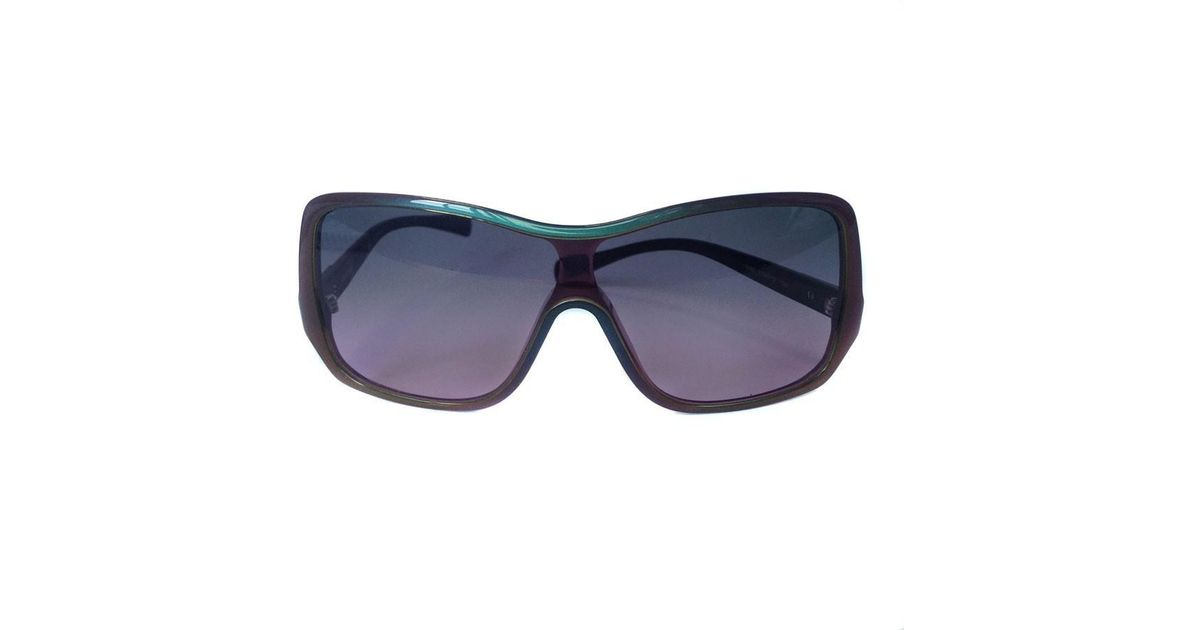 a578842b957 Lyst - Chanel Vintage Sunglasses in Blue