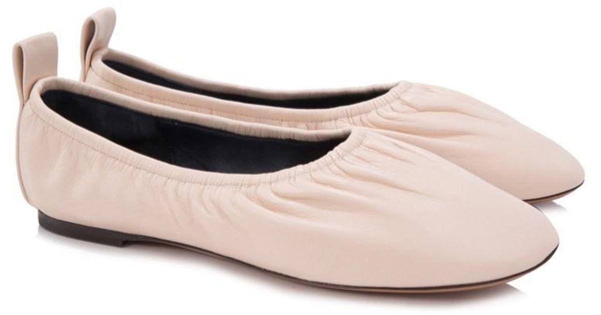 5d476a637dd Lyst - Céline Céline Soft Ballerina Flats in Pink