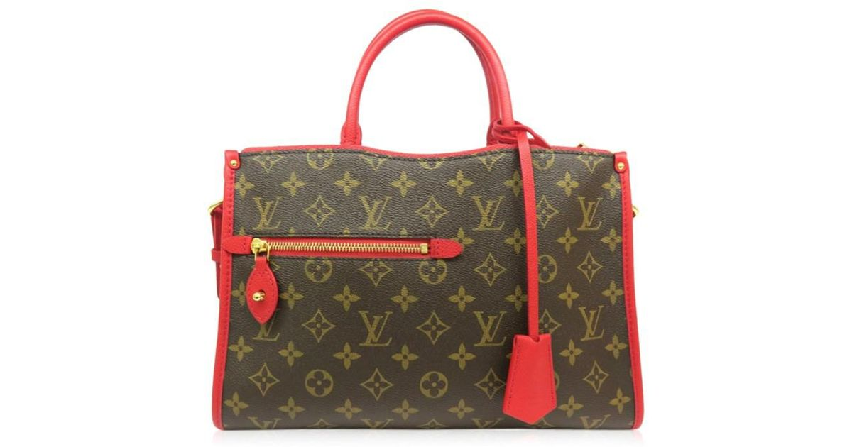 566b040cab1b Lyst - Louis Vuitton Monogram Popincourt Pm Shoulder Bag Tote Bag Brown  4479 in Brown