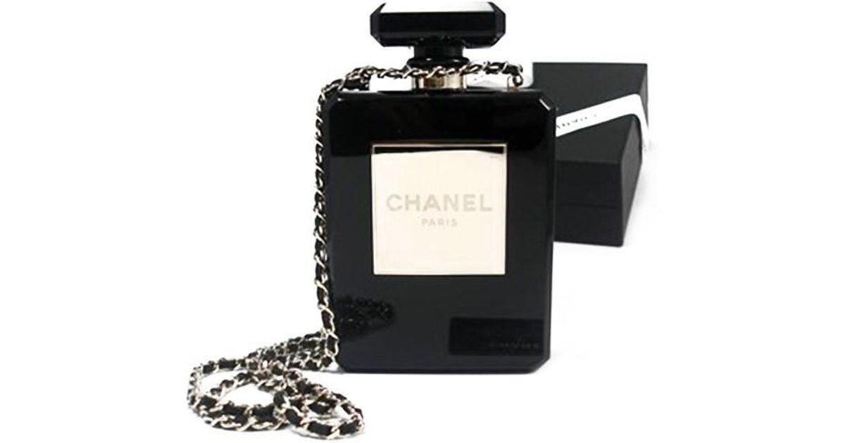 f97bf073177 Lyst - Chanel Black Perfume Bottle Bag Limited Edition in Black