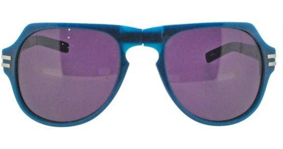f12d994571 Lyst - Linda Farrow X Tim Hamilton Th 4 2 Cat4 Folding Sunglasses in Blue
