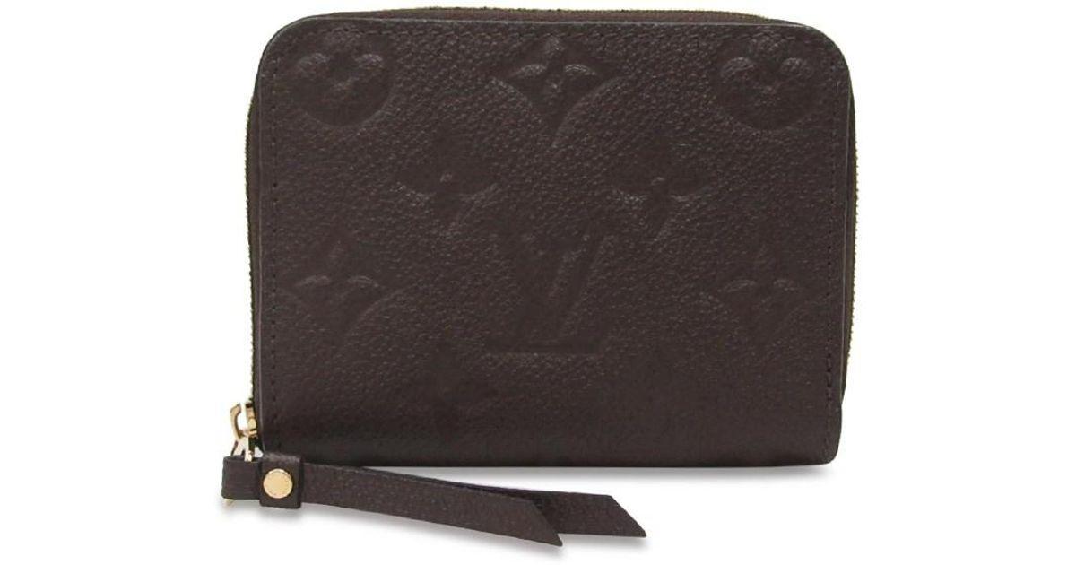 25b02b38216d Louis Vuitton Zippy Coin Purse Empreinte - Best Purse Image Ccdbb.Org
