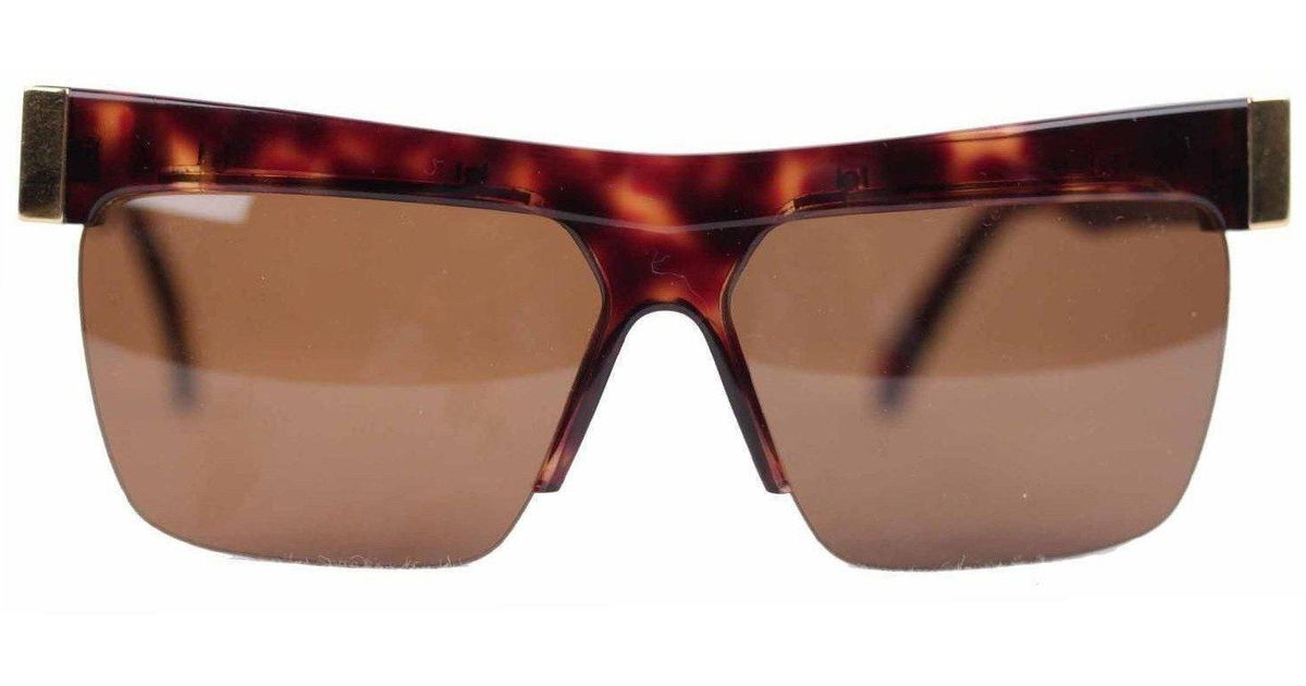 300015e77 Lyst - Versace Gianni Vintage Mint Gold/brown Sunglasses 399 Col 740 60mm  in Natural for Men