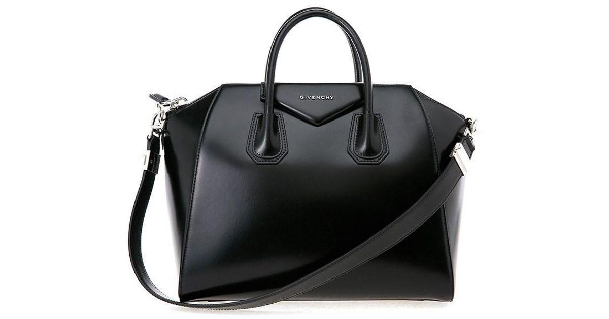 a336b237e9 Lyst - Givenchy Antigona Medium Bag in Black