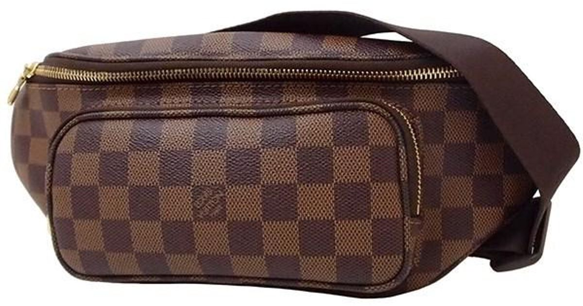 b429cf55499c Lyst - Louis Vuitton Bum Bag Melville Damier N51172 Shoulder Bag Waist Bag  Men s in Brown for Men