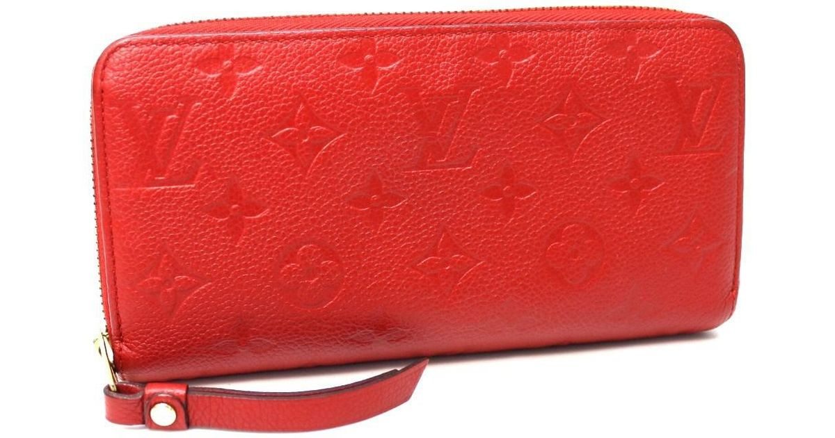 e1c386ae3b32 Lyst Louis Vuitton Monogramempreinte Zippy Wallet Zip Around Long