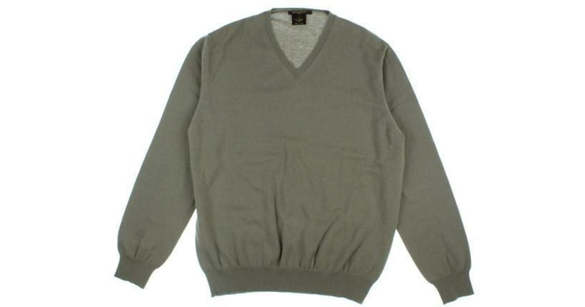 386977edf63 Lyst - Louis Vuitton Sweater Grey L in Gray for Men