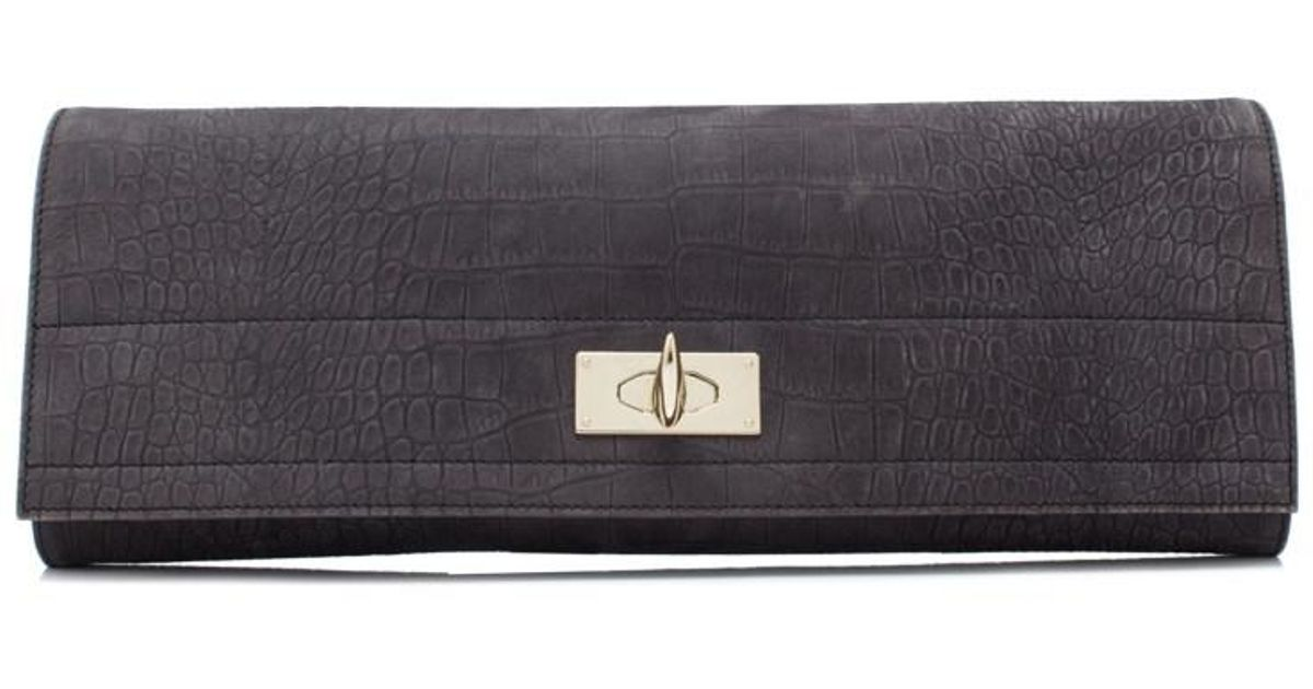 Givenchy Pre-owned - Shark leather clutch bag Al78F