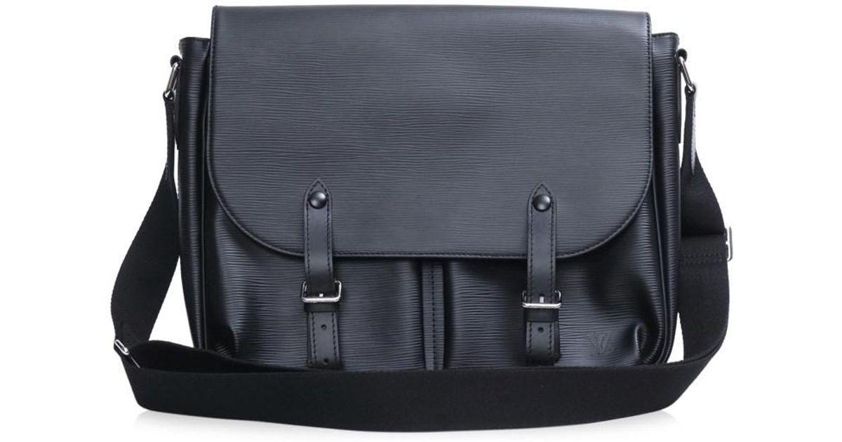 Lyst - Louis Vuitton Christopher Messenger Shoulder Crossbodybag Noir Black  Epi M58834 in Black for Men dfcb0fd6ea089