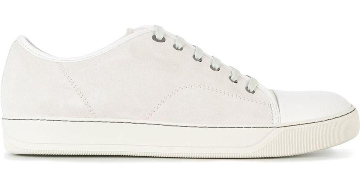 sale retailer 76a20 e10a8 Lanvin - White Paris Scarpe Fmskdbb1anapp15 - Lyst