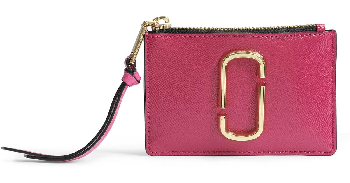 From China Cool Snapshot top zip wallet - Pink & Purple Marc Jacobs X3ENrp