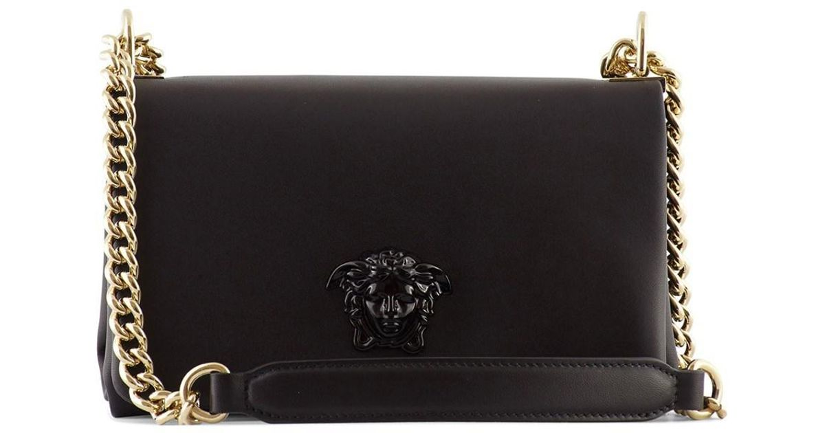 00ba516ff Versace Versave Palazzo Cross-body Bag Black in Black - Lyst