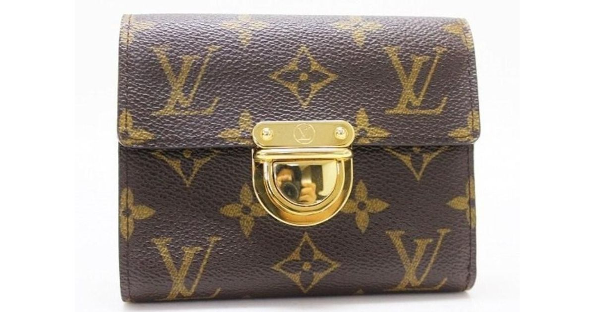 ... lyst louis vuitton authentic monogram portefeuille koala trifold ... 249fe7cac94